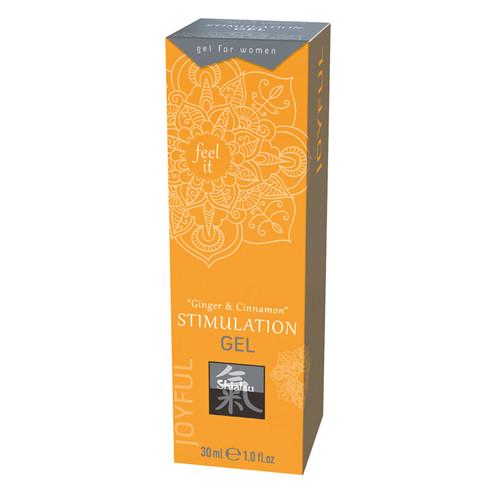 Stimulation Gel - Ginger & Cinnamon