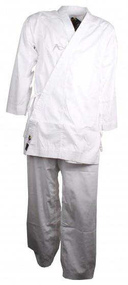 Karate Suit Kumite Deluxe Wkf White Unisex Size 200