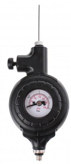 Pressure Gauge 0-30 Psi & 0-2 Bar