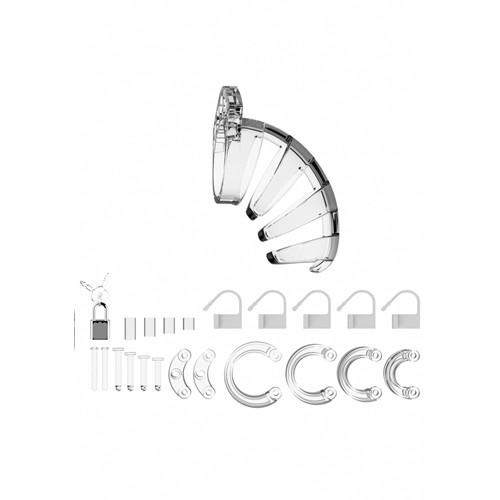 ManCage 02 Chastity Cage - Transparent