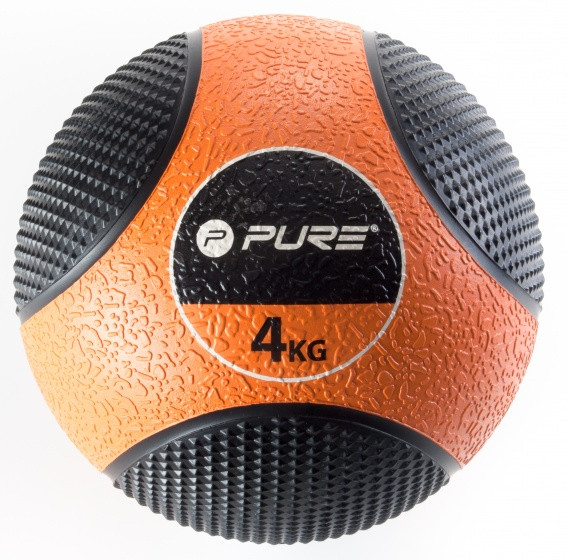 Medicine Ball 4 Kg Orange / Black