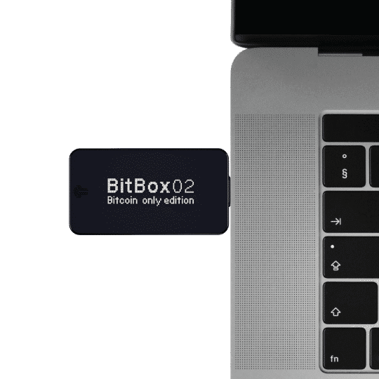 BitBox02 Hardware Wallet - Bitcoin Only Edition