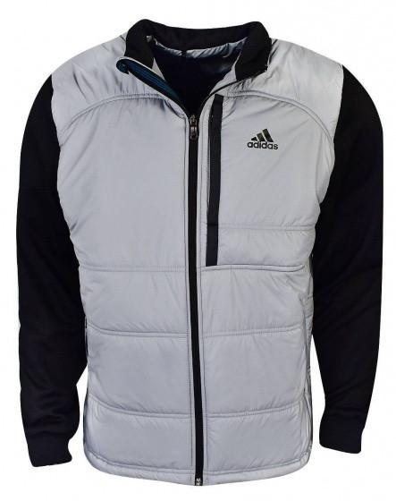 Golf Jacket Climaheat Primaloft Men Gray / Black Size Xs