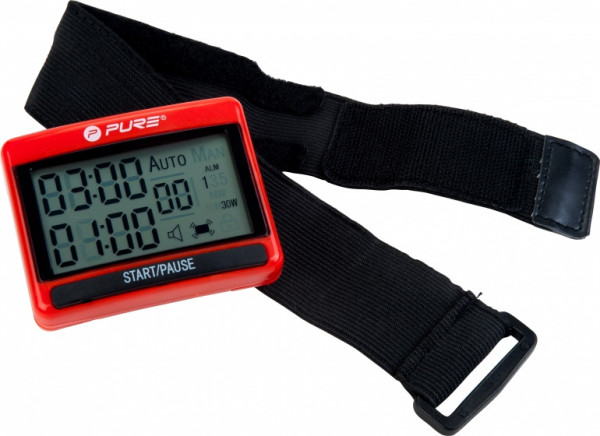 Interval Trainer 7.5 X 6 cm Red / Black