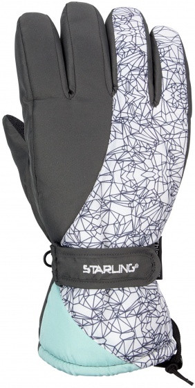 Ski Gloves Taslan Noël Anthracite Size 9 / L