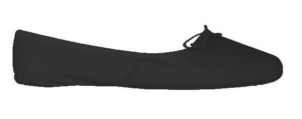 Black Ballet Shoe Size 36