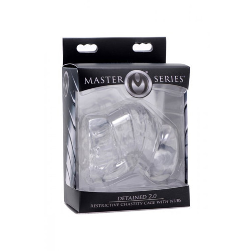 Detained 2.0 Penis Cage / Transparent / Master Series