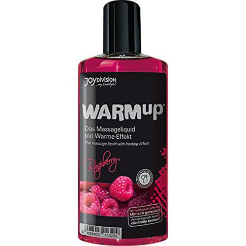 WARMup Raspberry Massage oil - 150 ml