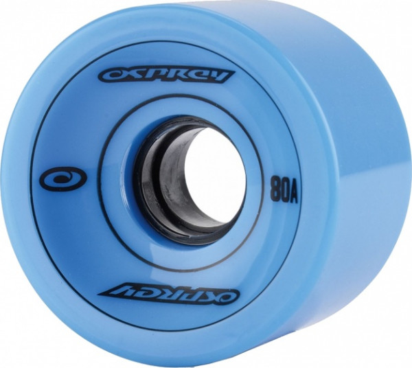 Longboard Wheels 75 X 51mm 83a Blue Per 4 Pieces