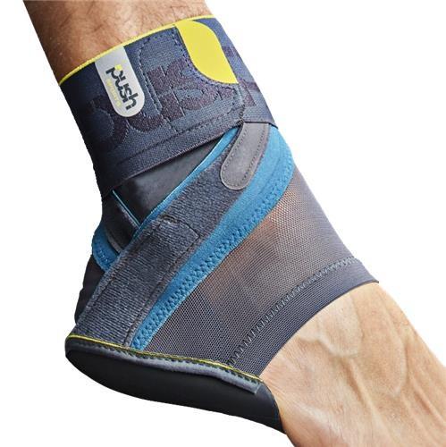 Ankle Brace Kicx Gray Left Size L