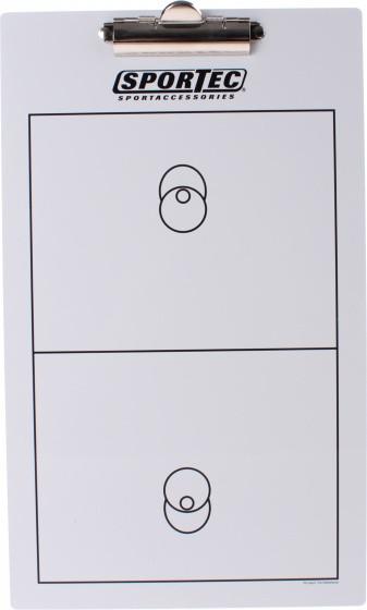 Coach Board With Clip Korfball 40 cm White