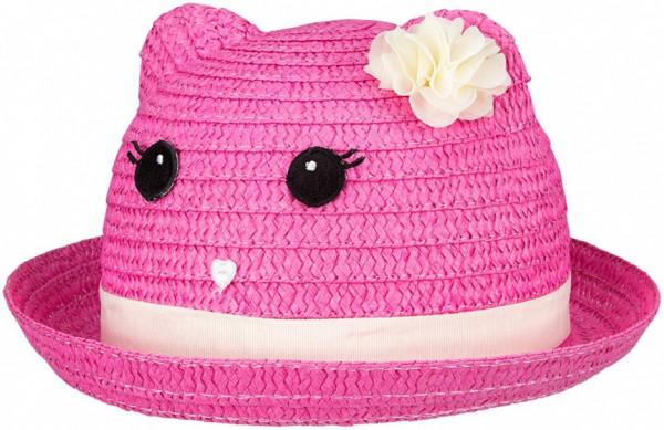 Junior Fiësta Straw Hat Girls Pink