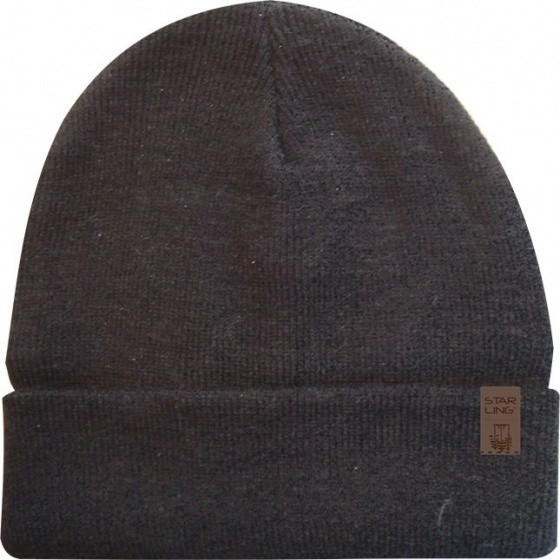 Lined Hat Knitted Anthracite One Size