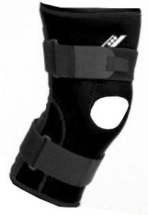 Knee Brace Plus Ii Black Size Xl