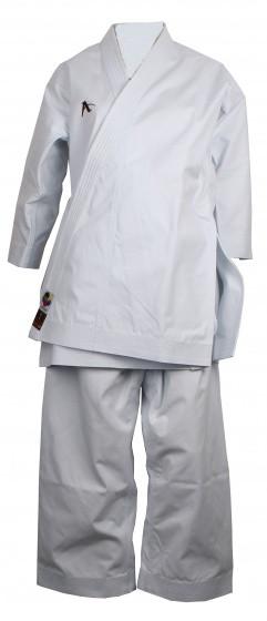 Karate Suit Amber Evolution Wkf White Ladies Size 205