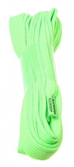 Shoe Laces Flat Fluorescent Green 130 cm