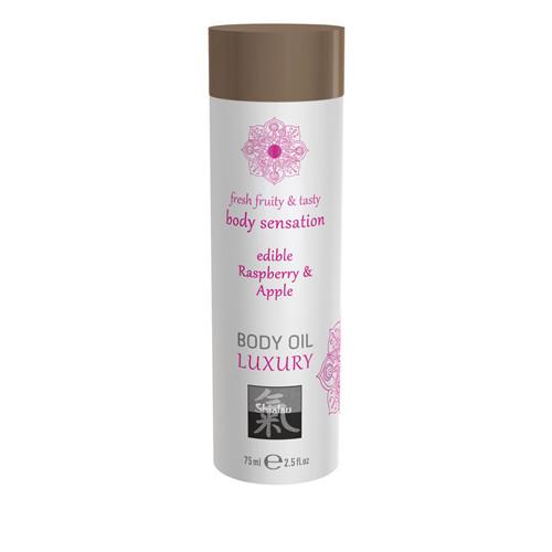 Luxury Body Oil Edible - Raspberry & Apple