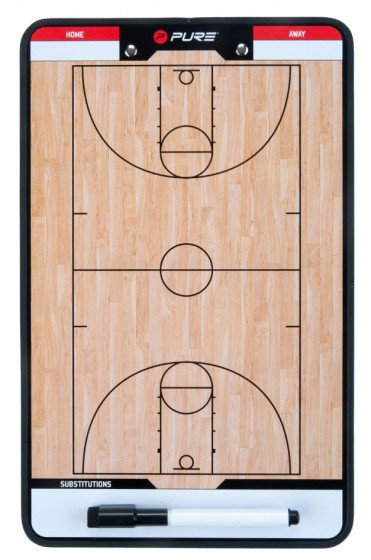 Coachboard Basketball 35 X 22 cm Brown